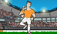 Online free browser game: Soccer Style 2010