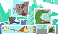Online free browser game: Critter Cubes