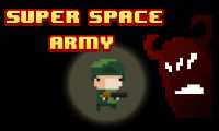 Online free browser game: Super Space Army