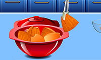 Online free browser game: Sara\\\'s Cooking Class: Pumpkin Pie
