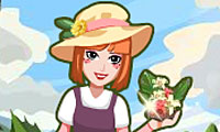 Online free browser game: Flower Style Shop