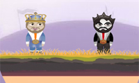 Online free browser game: Slow & Blow Kings