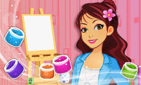 Online free browser game: Betsy\\\'s Crafts: Sand Painting