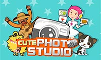 Online free browser game: Cute Photo Studio