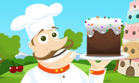 Online free browser game: Cake Tower