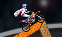 Online free browser game: Moto X Madness
