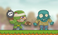 Online free browser game: Boom Go The Zombies