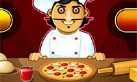 Online free browser game: Pizza Bar
