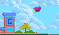 Online free browser game: Fly Again