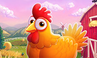 Online free browser game: Barnyard Scramble
