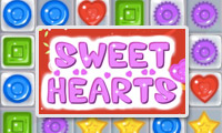 Online free browser game: Sweet Hearts