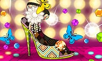 Online free browser game: High Heel Styler