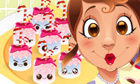 Online free browser game: Marshmellow Cuties Decoration