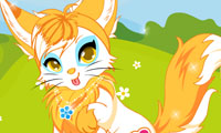 Online free browser game: Foxy Cutie