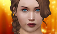 Online free browser game: The Hunger Games Makeover