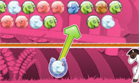 Online free browser game: Bubble Hit: Pony Parade