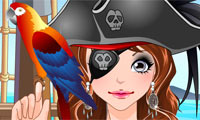 Pirate Girl Make Up