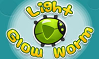 Online free browser game: Glow Worm