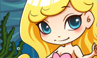 Online free browser game: Lovely Mermaid