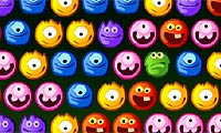 Online free browser game: Yummy-Yummy Monster Shooter