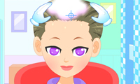 Online free browser game: Summer Girl Hairstyle Maker