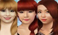 Online free browser game: 2NE1 Make Over