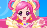 Online free browser game: Pretty Cure 2