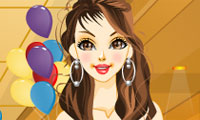Online free browser game: Party Gal Dress Up
