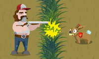 Online free browser game: Redneck vs Zombies