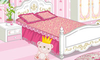 Online free browser game: Princess Cutesy Room Decoration