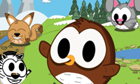 Online free browser game: Owly & Friends
