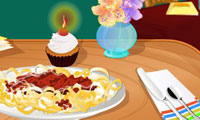 Online free browser game: Italian Dinner Table Decoration