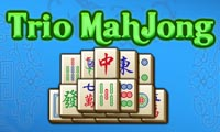 Online free browser game: Trio Mahjong