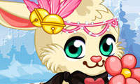 Online free browser game: Winter Bunny