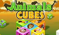 Online free browser game: Animal Cubes