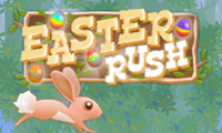 Online free browser game: Easter Rush