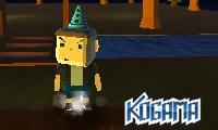 Online free browser game: Kogama: Camping Place
