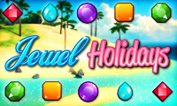 Online free browser game: Jewel Holidays
