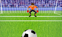 Online free browser game: Penalty Shooting