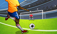 Online free browser game: Penalty Shootout 2012