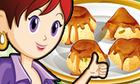 Online free browser game: Raisin Pudding: Sara\\\'s Cooking Class