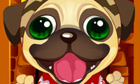 Online free browser game: Cute Christmas Puppy