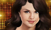 Online free browser game: Selena Gomez Makeover
