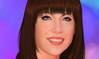 Online free browser game: Carly Rae Jepsen Makeover