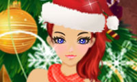 Online free browser game: Merry Christmas Girl