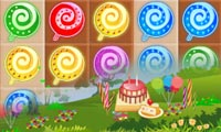 Online free browser game: Sweet Candies