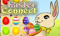 Online free browser game: Easter Connect