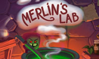 Online free browser game: Merlin\\\'s Lab