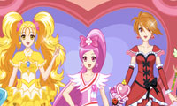 Online free browser game: Pretty Cure 4