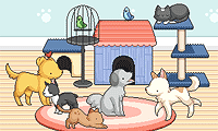 Online free browser game: Pet Daycare Decoration